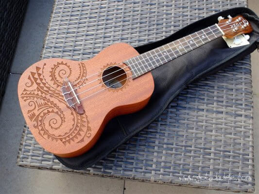 Luna Concert Acoustic-Electric Ukulele