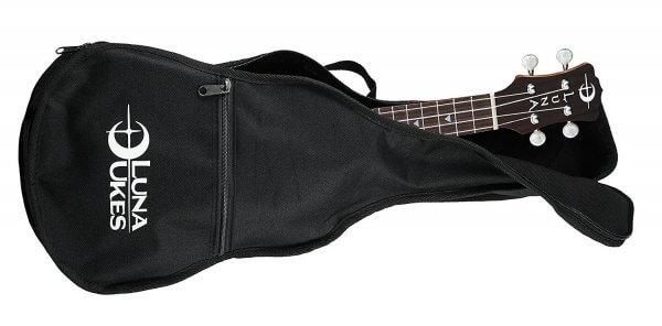Luna Concert Acoustic-Electric Ukulele case