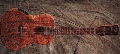 Luna Mahogany Concert Acoustic-Electric Ukulele