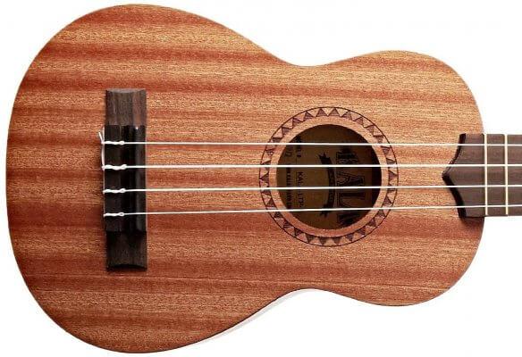 Kala Light Mahogany Stain ukulele