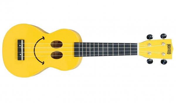 Mahalo U Smile Soprano Ukulele Yellow
